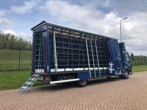 Glaswagen voor de Venlose Glasindustrie.