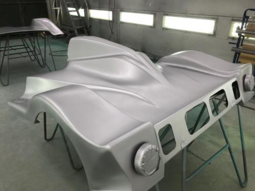 Schermen Racewagen